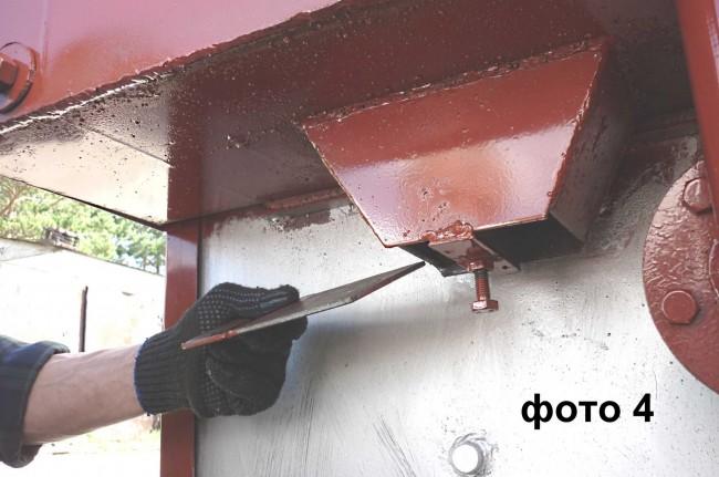 Прочистка дымогарных труб 4